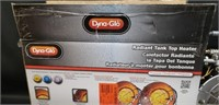 Dyna-glo radiant tank top heater