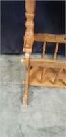Beautiful wood small table
