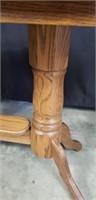 Beautiful wood long table