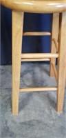 Beautiful wood stool