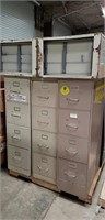 Pallet lot of Metal File Cabinets