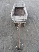 Rustic Decor Wagon