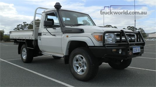 2013 Toyota Landcruiser 4wd Truck Traders WA  - Light Commercial for Sale