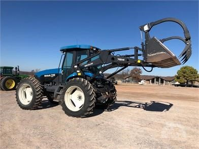 New Holland 7614 For Sale In Drumheller Alberta Canada Tractorhouse Com