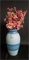 Beautiful Handmade blue vase