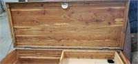 Beautiful Solid Cedar Wood Trunk