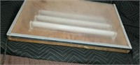 Vintage Lighted Draft Drawing Table