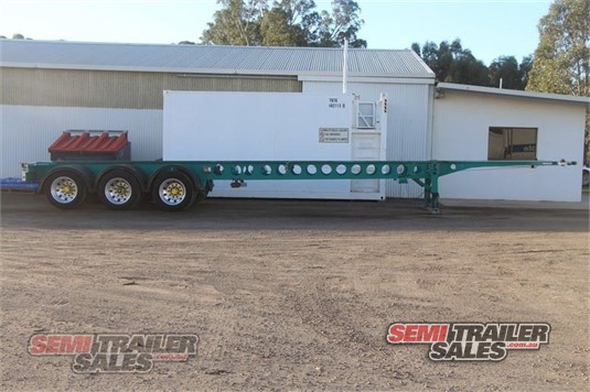 2007 Krueger Skeletal Trailer Semi Trailer Sales - Trailers for Sale