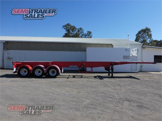 2009 Maxitrans Skeletal Trailer Semi Trailer Sales - Trailers for Sale