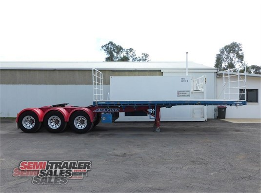 2008 Maxitrans Flat Top Trailer Semi Trailer Sales - Trailers for Sale