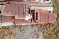 9pc Massey Ferguson Suitcase Weights & Bracket