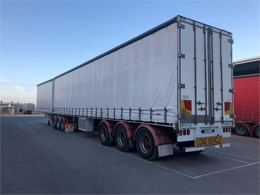 2003 Southern Cross B Double Tautliner Set - Trailers for Sale