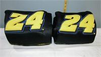 Nascar #24 Jeff Gordon Bucket Seat Covers set of 2