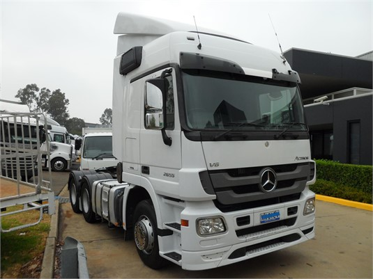 2013 Mercedes Benz Actros 2655 - Trucks for Sale