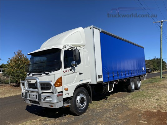 2008 Hino 500 Series 1727 GH Carroll Truck Sales Queensland - Trucks for Sale