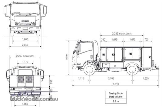 2020 Isuzu NPR Service Vehicle truck for sale Gold Coast