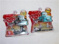 Disney Pixar Cars Collectible Cars set of 4