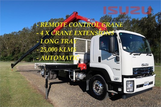 2019 Isuzu FVY 240 300 AUTO LWB Used Isuzu Trucks - Trucks for Sale