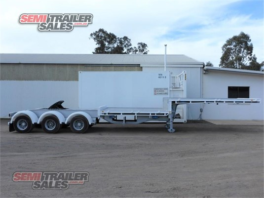 1999 Vawdrey Drop Deck Trailer Semi Trailer Sales - Trailers for Sale