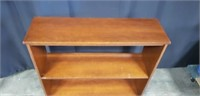 Beautiful wood small 3 teir shelf
