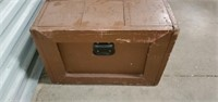Vintage Solid Wooden Tool Trunk