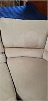 Beautiful white sectional couch