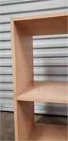 Faux wood small shelf