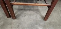 Set of 4 wood chairs