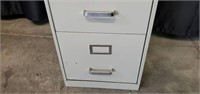Metal Beige 4 Drawer File Cabinet