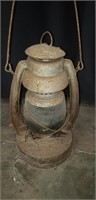 Vintage metal oil lamp