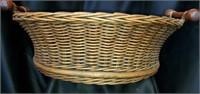 Set of 2 Round Oversized Nesting Baskets