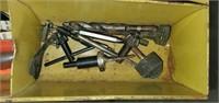 Vintage Metal 3 Drawer Tool Cabinet FULL of Tools