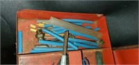 Red Metal Milwaukee Toolbox FULL of Tools
