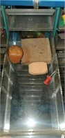 Vintage Metal 40 Drawer Tool Container of Misc