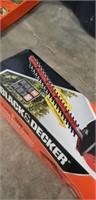 "Black & decker 20"" dual action hedge trimmer"