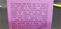 """2001 Kennedy half dollar gem """"proof"""" condition"""
