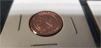 US treasury commemorative medallion pennies