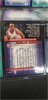 Lot of 9 basketball playing cards