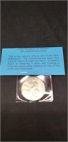 2000 Republic of liberia millennium $10 coin