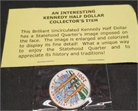 Collectors Kennedy half dollar