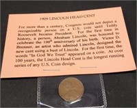 1909 Lincoln head cent