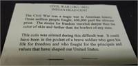 Civil War (1861-1865) Indian head cent