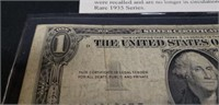 Vintage 1935 Silver Certificate $1 note