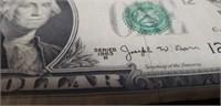 1963 Scarce Barr $1 note
