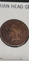 Lot of 6 Indian Head cents various years