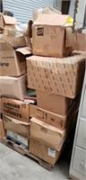 Pallet lot Mostly Vintage Books & Misc Items