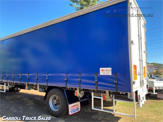 2007 Custom Built CURTAINSIDER BODY Carroll Truck Sales Queensland - Truck Bodies for Sale