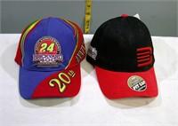 Nascar #24 Jeff Gordon Ball Caps set of 2