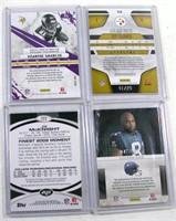 Football Cards J/Mcnight V/Shiancor T/Pplamalu