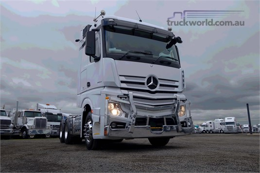 2017 Mercedes Benz Actros 2655 - Trucks for Sale